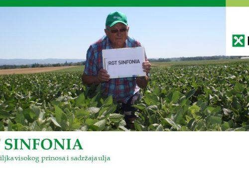 RGT SINFONIA – robusna sorta soje visokog prinosa i sadržaja ulja